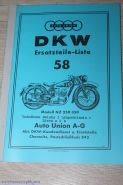 Каталог з/ч DKW NZ 250-350